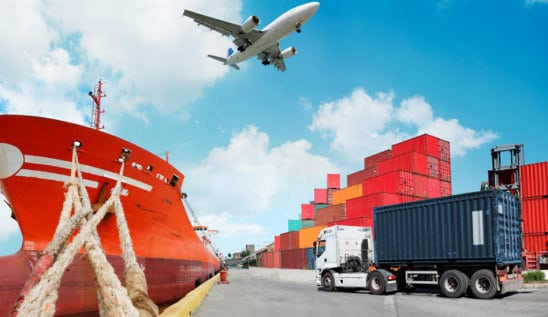 Import and Export by plane, truck, or boat